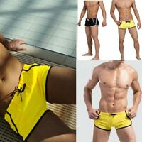 Swim Board Trunks Underwear Swimming Shorts Tether Beach Swimwear Boxers Briefs
