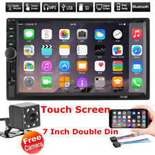 2-DIN 7inch Car MP3 MP5 Player FM Bluetooth Touch Screen Stereo Radio USB/AUX