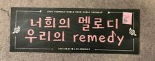 BTS Love Yourself Speak Yourself Tour 2019 Rose Bowl Slogan DAY 2 5/5/19