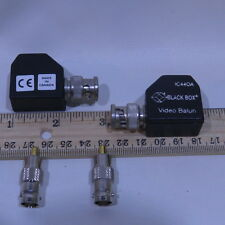 2 Black Box Video Balun IC44OA for RJ-45 Cat 3, 5 Cable to BNC Connector, IC440A
