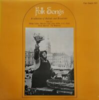 Folk Songs-A Collection Of Ballads And Broadsides Vinyl LP.1970 Topic TPS 201.