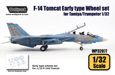 Wolfpack WP32077, F-14 Tomcat EarlyType wheel set (for Tamiya/Trumpe, SCALE 1/32