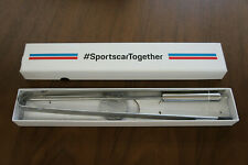 NIB Porsche Sports Car Together Barbecue BBQ Grill Steel Tool Set 2 Pcs - Rare!
