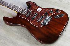 G&L Tribute S-500 Solidbody Electric Guitar Brazilian Cherry Board - Irish Ale