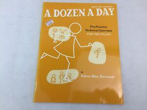 A Dozen A Day - Book Five - Intermediate - For The Piano - Edna-Mae Burnam - (F)