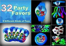 PJ -32pc Combo -Party Favors Toys Birthday Pinata Prizes Bags  Superheroes Masks