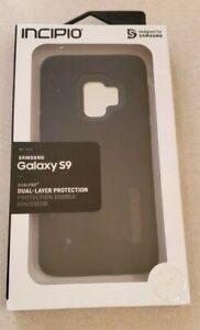 Genuine Incipio DualPro Case Cover For Samsung Galaxy S9 (2018) - Black/Black