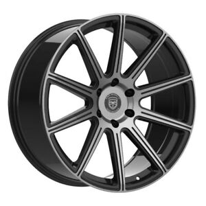 4 G42 MOD 22 inch Black Tint Rims fits MERCURY MOUNTAINEER 2000-2010