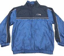 Seattle Seahawks Jacket Reebok Windbreaker Jacket Size Large Vintage Size XL D45