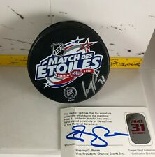 Carey Price - Autographed All Star Puck - Montreal Canadiens Habs COA