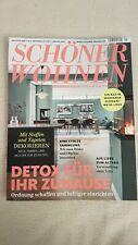 Schöner Wohnen Detox für ihr Zuhause Jan/2020 neuwertig