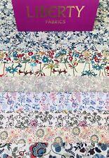 "Liberty Tana Lawn Scrap Pack 'Flower And Ferns' 8 Gorgeous Prints 6"" X 9"""