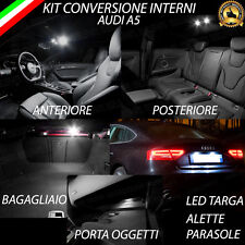 KIT FULL LED INTERNI AUDI A5 (B8) CONVERSIONE COMPLETA + LED TARGA CANBUS