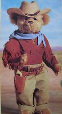 "MIB JOHN WAYNE BEAR THE DUKE 16"" STORED N BOX NEVER DISPLAYED 1993 FRANKLIN MINT"