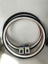 NEW TIRE & TUBE 26 X 2.125 (57-559) BLACK TIRES WHITE WALL HIGH QUALITY TIRES