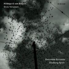 Ensemble belcanto-Hildegard di cancellatele-Ordo virtutum CD 51 tracks nuovo