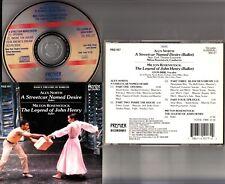 A Streetcar Named Desire; The Legend of John Henry- ALEX NORTH Ballet Music CD