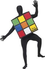 Adults Film & Tv Fancy Dress Party Rubiks Cube Unisex Complete Costume