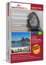 Brasilianisch lernen von A bis Z - Sprachkurs-Komplett-DVD + Smartphone-Version