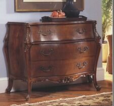 French Bombe Walnut Chest of Drawers antique reproduction NEW 1022-4