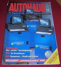 dachbodenfund zeitschrift heft autohaus offz. organ des zdk 17 / 1996 alt