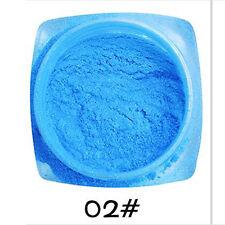 8 Pure color Chrome Mirror Metal Magic Powder Pigment Nail Art Glitter DIY new