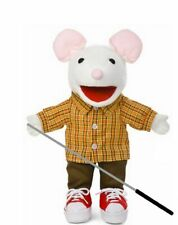 Silly Puppets Mouse with Sneakers Puppet Bundle 14 inch with Arm Rod