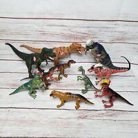 Lot Of 10 Vintage Jurassic Park Dinosaurs Action Figures Hasbro Keener Toys Rare