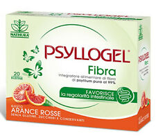 PSYLLOGEL FIBRA ARANCE ROSSE 20 BUSTINE - REGOLATORE INTESTINALE -