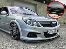 Spoilerschwert Frontspoiler ABS Opel Vectra C OPC Facelift ABE schwarz glänzend