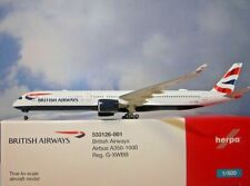 Herpa Wings 1:500 Airbus A350-1000  British Airways  533126-001 Modellairport500