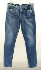 Seven Kansas Authentic Gwenevere Stretch High-Waisted Skinny Jeans Size 32