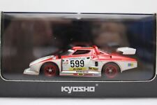 Kyosho Lancia Stratos Turbo Group 5 Silhouette Racer Model Car no 599 03141F NEW