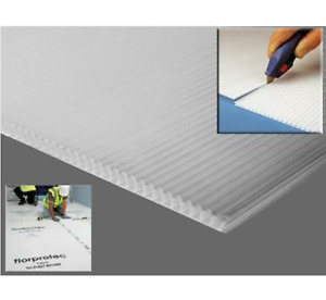 Floor Protection Corrugated Sheets Correx Fluted Board Plastic Pet Cage Hutch