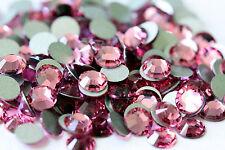 ROSE Swarovski Crystal 2038 HOTFIX Rhinestones 144 Pieces 6ss 2.0mm