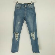 RES Denim Womens Size 27 Jeans Kitty Skinny Distressed Zipper Closure Inseam 27