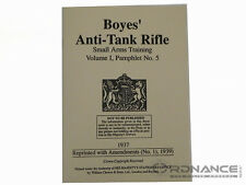 Boyes' Anti-Tank Rifle Small Arms Training Volume I, Pamphlet No. 5 (Reprint)