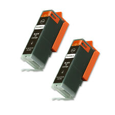 2 BLACK Ink Jet Cartridge for PGI-250XL Canon MG5400 MG5420 MG5520 FAST SHIP