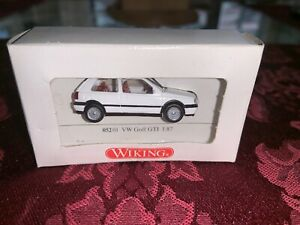 Wiking 052 01 VW Golf III GTI (2-Door) (White Color) for Marklin - NEW w/BOX