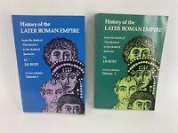 History of the Later Roman Empire Vol 1 & 2 J B Bury Dover SC Books