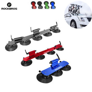 ROCKBROS Bike Carrier Rooftop Bike Rack Sucker Quick Release Upright Roof Rack