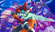 276 Mega Man Zero PLAYMAT CUSTOM PLAY MAT ANIME PLAYMAT FREE SHIPPING