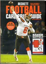 2019-20 Beckett Football Card Price Guide 36th Edition Big Complete Annual