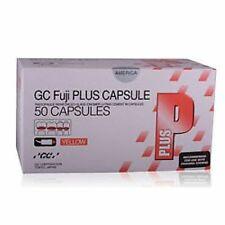 GC FUJI PLUS LUTING CEMENT YELLOW - 50 CAPSULES