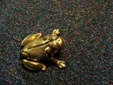 ART DECO/BRASS/HINGED/FROG ASHTRAY/WORKS FOR RINGS OR EARRINGS AS WELL