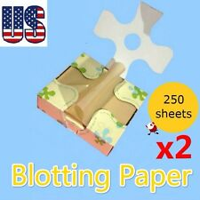 Cosmetic blotting paper oil control tissue 250 sheets natural ingredient