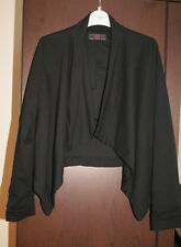 New Look Brand New Ladies Black Waterfall Jacket Blazer Size 10