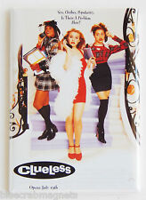 Clueless FRIDGE MAGNET (2.5 x 3.5 inches) movie poster alicia silverstone