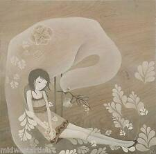 Amy Sol Art Print Poster Uyi in the Careful Feathers S/# 50 Audrey Kawasaki