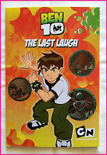BEN 10 - THE LAST LAUGH - Awesome Kids Ben10 Book - Soft Cover 52pgs - NEW